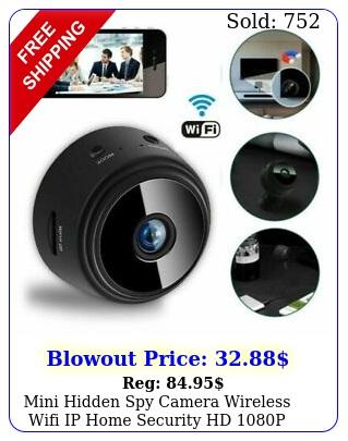 mini hidden spy camera wireless wifi ip home security hd p dvr night visio