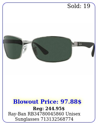 rayban rb unisex sunglasse