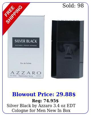 silver black by azzaro oz edt cologne men i