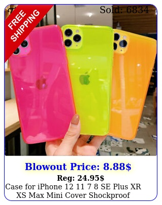 case iphone   se plus xr xs max mini cover shockproof silicone cove