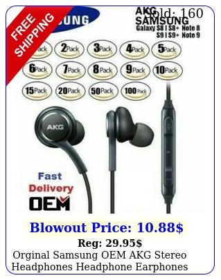 orginal samsung oem akg stereo headphones headphone earphones in ear earbuds lo