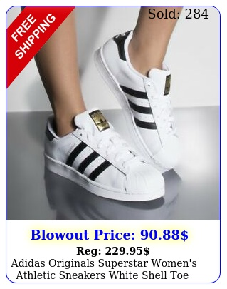 adidas originals superstar women's athletic sneakers white shell toe shoe