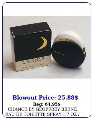 chance by geoffrey beene eau de toilette spray oz  ml women same bo