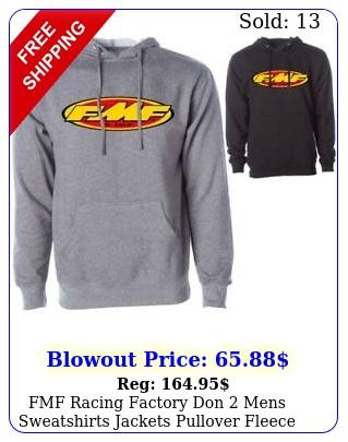 fmf racing factory don mens sweatshirts jackets pullover fleece hoodie