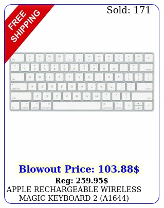 apple rechargeable wireless magic keyboard a mlalla wlightning cabl
