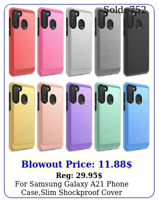 samsung galaxy a phone caseslim shockproof cover tempered glass protecto