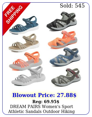 dream pairs women's sport athletic sandals outdoor hiking lightweight sandal