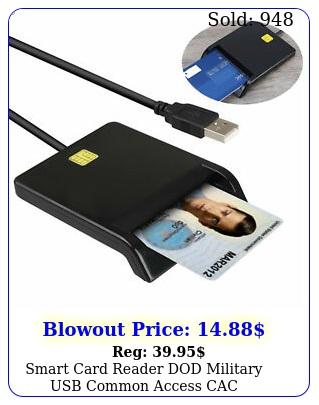 smart card reader dod military usb common access cac compatible windows mac o