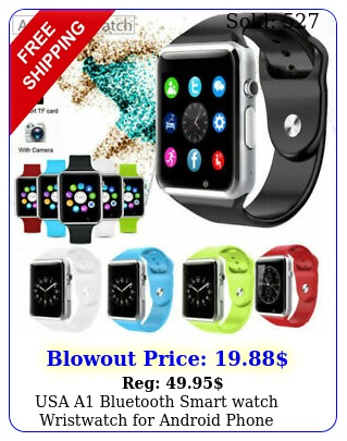 usa a bluetooth smart watch wristwatch android phone intelligent men wome