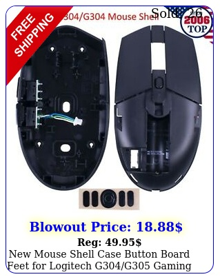 mouse shell case  button board  feet logitech gg gaming mous