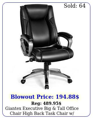 giantex executive big tall office chair high back task chair w lumbar suppor