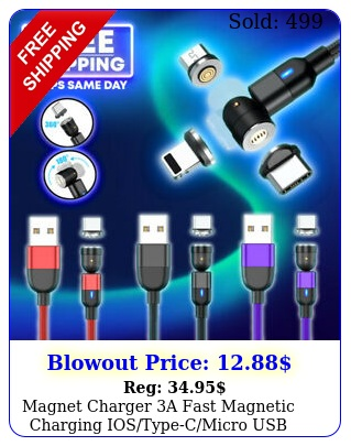 magnet charger a fast magnetic charging iostypecmicro usb adapter data cabl