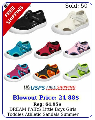 dream pairs little boys girls toddles athletic sandals summer beach water shoe