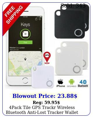pack tile gps trackr wireless bluetooth antilost tracker wallet key pet finde