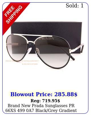 brand prada sunglasses pr xs a blackgrey gradient wome