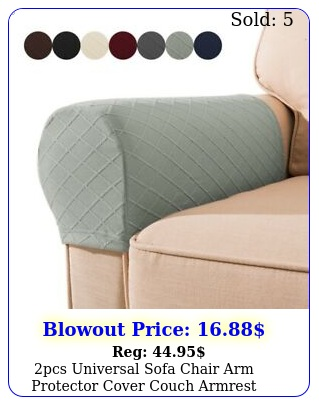 pcs universal sofa chair arm protector cover couch armrest covers slipcover u