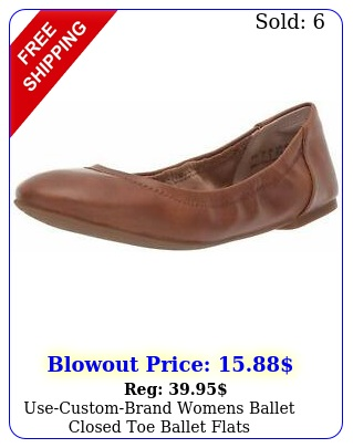 usecustombrand womens ballet closed toe ballet flat