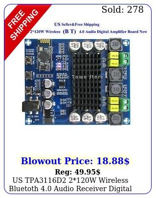 us tpad w wireless bluetoth audio receiver digital amplifier boar