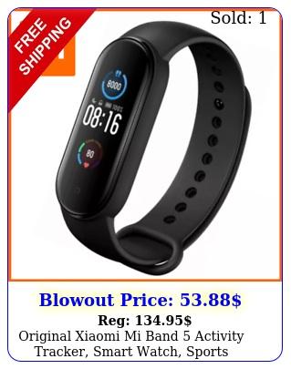 original xiaomi mi band activity tracker smart watch sports wristband cloc