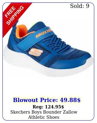 skechers boys bounder zallow athletic shoe