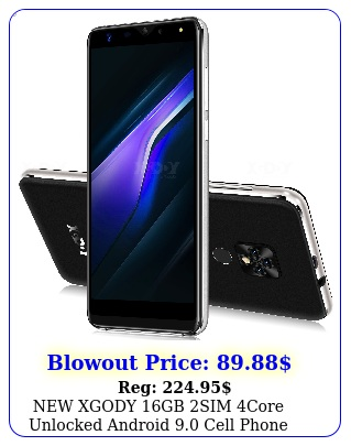 xgody gb sim core unlocked android cell phone smartphone core m