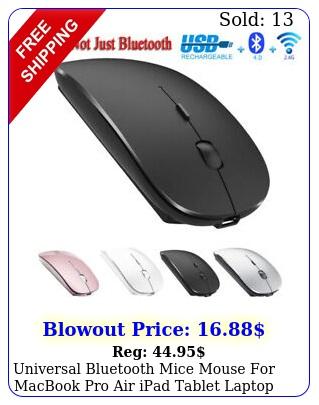 universal bluetooth mice mouse macbook pro air ipad tablet laptop pc sli