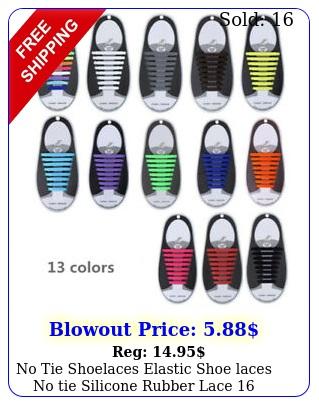 no tie shoelaces elastic shoe laces no tie silicone rubber lace piece