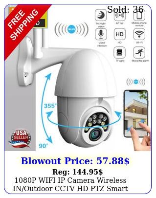 p wifi ip camera wireless inoutdoor cctv hd ptz smart home security ir ca
