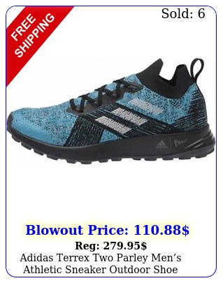 adidas terrex two parley mens athletic sneaker outdoor shoe hiking trail runne