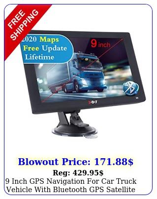 inch gps navigation car truck vehicle with bluetooth gps satellite nav