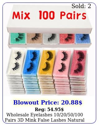 wholesale eyelashes pairs d mink false lashes natural bulk mi