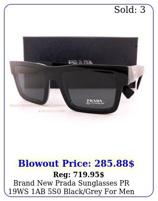 brand prada sunglasses pr ws ab s blackgrey me