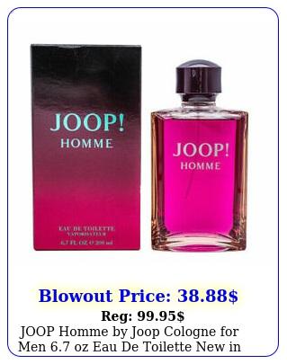 joop homme by joop cologne men oz eau de toilette in retail bo