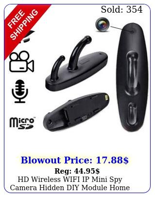 hd wireless wifi ip mini spy camera hidden diy module home security micro ca