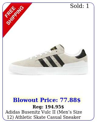 adidas busenitz vulc ii mens size athletic skate casual sneaker sho