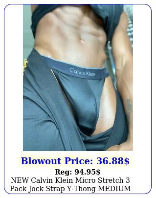 calvin klein micro stretch pack jock strap ythong medium ''''