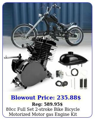 cc full set stroke bike bicycle motorized motor gas engine kit blac
