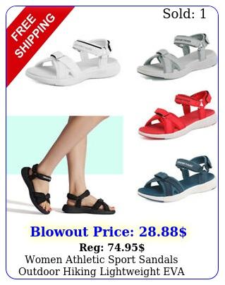 women athletic sport sandals outdoor hiking lightweight eva sandal shoes u