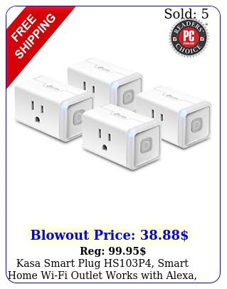 kasa smart plug hsp smart home wifi outlet works with alexa echo googl