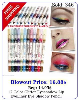 color glitter eyeshadow lip eyeliner eye shadow pencil shimmer pen makeup se