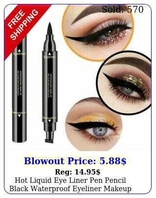 hot liquid eye liner pen pencil black waterproof eyeliner makeup beauty cosmeti