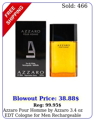 azzaro pour homme by azzaro oz edt cologne men rechargeable i
