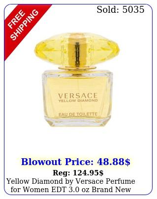 yellow diamond by versace perfume women edt oz brand tester with ca