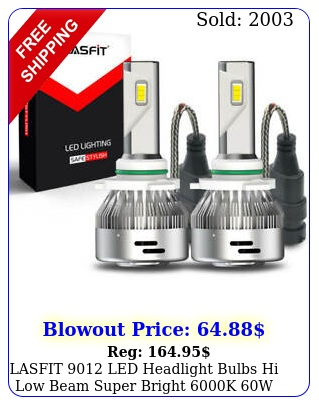 lasfit led headlight bulbs hi low beam super bright k w laplus serie