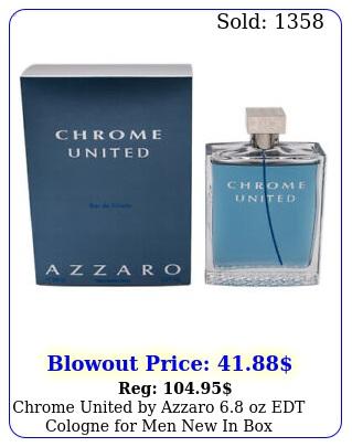 chrome united by azzaro oz edt cologne men in bo
