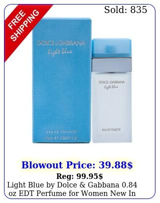 light blue by dolce gabbana oz edt perfume women i