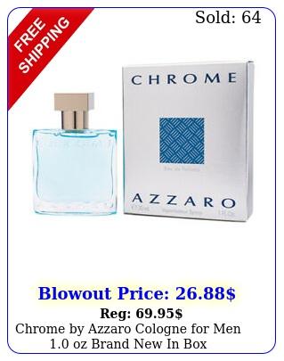 chrome by azzaro cologne men oz brand i