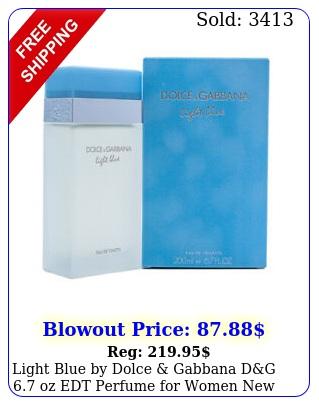 light blue by dolce gabbana dg oz edt perfume women i