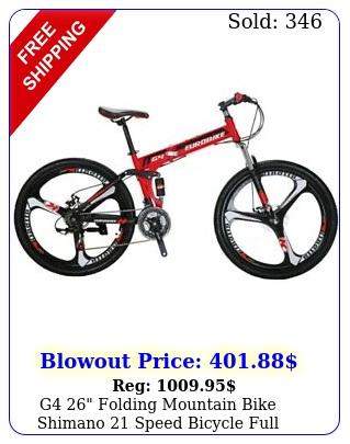 g folding mountain bike shimano speed bicycle full suspension mtb bike