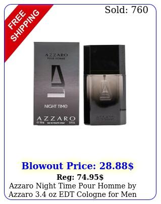 azzaro night time pour homme by azzaro oz edt cologne men i